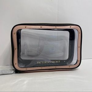 NWT Victoria's Secret Pink Studded Cosmetic Bag